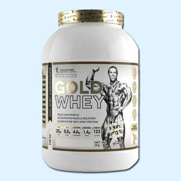 GOLD WHEY 2 KG - KEVIN LEVRONE - protéine tunisie sobitas