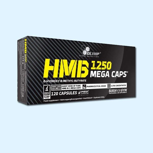 HMB 1250 MEGA CAPS 120 CAPS – OLIMP NUTRITION