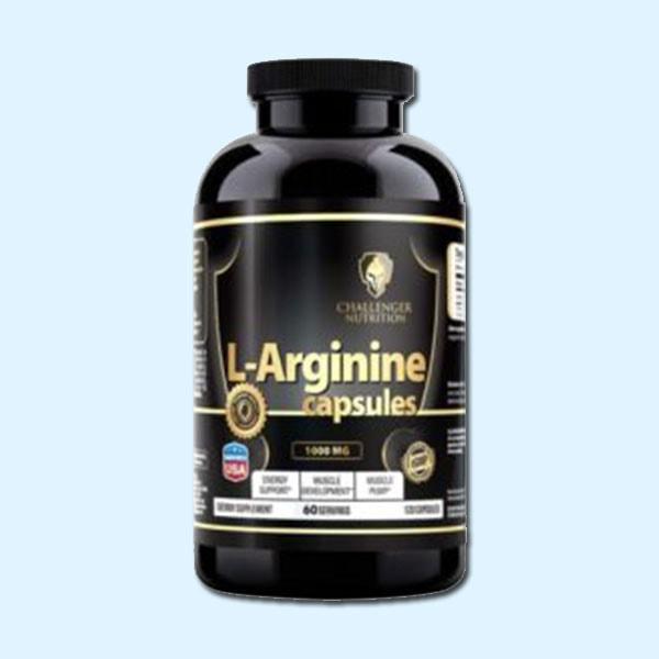L-ARGININE 120 Caps – Challenger Nutrition - protéine Sousse SOBITAS protein.tn