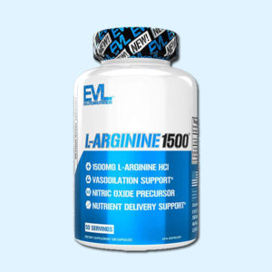 L-ARGININE 1500 100 CAPS - EVLUTION NUTRITION - protéine Tunisie SOBITAS protein.tn