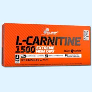 L-CARNITINE 1500 EXTREME 120 CAPS – OLIMP NUTRITION - protéine Tunisie SOBITAS protein.tn