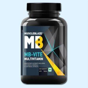 MB-VITE MULTIVITAMIN 60 Tabs - MUSCLEBLAZE - protéine Sousse SOBITAS protein.tn