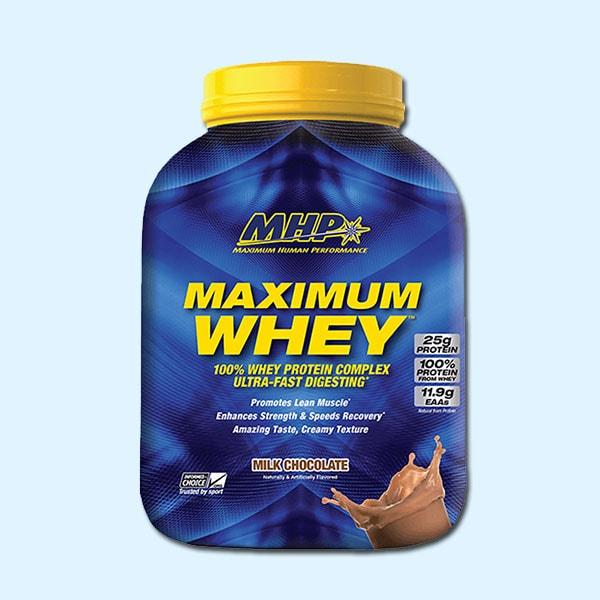 Maximum Whey 2.3kg - MHP - protéine Tunisie SOBITAS protein.tn