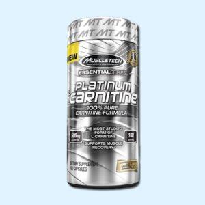PLATINUM 100% CARNITINE – 180 CAPS – MUSCLETECH - protéine Tunisie SOBITAS protein.tn