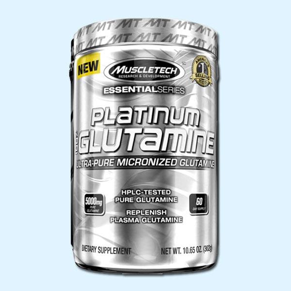 PLATINUM 100% GLUTAMINE 302 G – MUSCLETECH - protéine Sousse SOBITAS protein.tn