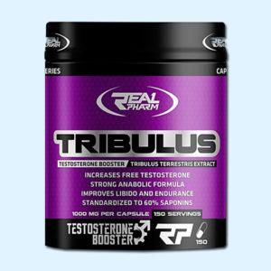 TRIBULUS 1000mg - REAL PHARM - protéine Tunisie SOBITAS protein.tn