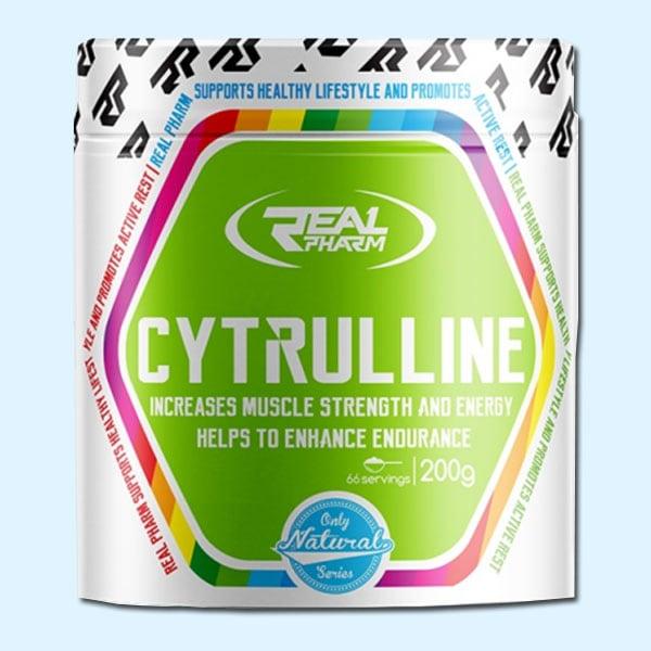 CYTRULLINE 200G – 66 SERVINGS – REAL PHARM - protéine tunisie sobitas