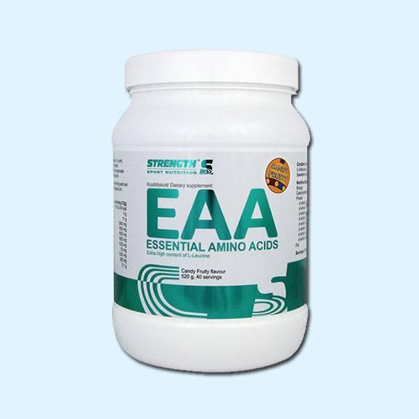 EAA – 520 G STRENGTH SPORT NUTRITION - protéine tunisie SOBITAS protein.tn