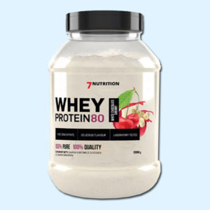 WHEY PROTEIN 80 2KG – 7NUTRITION - Protéine Tunsie SOBITAS