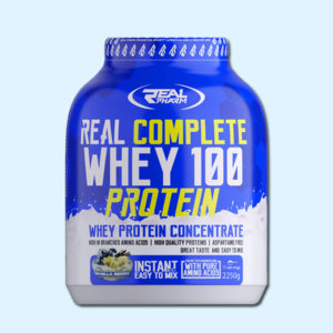 REAL WHEY 100 2250G - REAL PHARM - protéine Tunisie sobitas