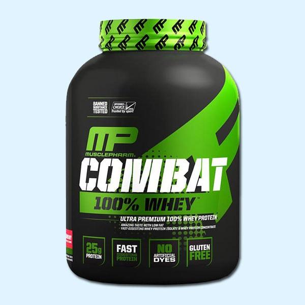Combat 100% Whey 2269gr - musclepahrm protéine Tunisie SOBITAS protein.tn